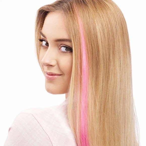 Amazon Accessories Free Baby Pink Clipin Long Hair Extension
